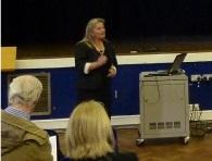 Gill Jones at October 2011 Forum