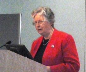 May 2015 Forum - Dr Rona Tutt