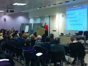 The February 2013 Forum underway
