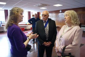 Kathy Dunnett Vice Chair of HASG and Mayor of Broxbourne